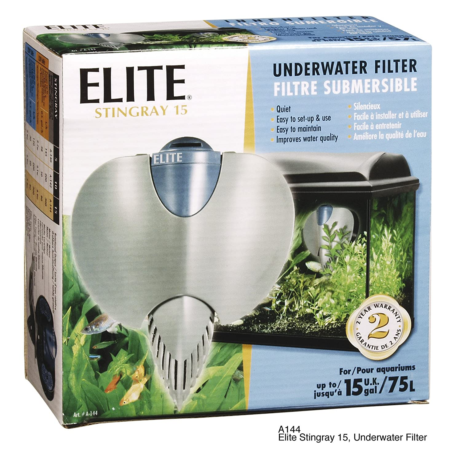 elite aquarium filter
