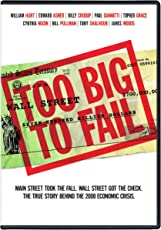 Too Big To Fail (Fully Packaged Import)