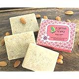 Earthy Sapo Baby Soft Bathing Soap - coconut milk, almond milk, kokum butter, 100g