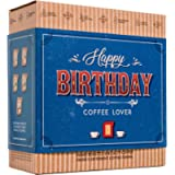 Gourmet Birthday Coffee Gift Set for Men & Women – 5 of The World's Finest Single Estate Specialty & Organic Coffees…