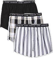 Calvin Klein 3 Pack Slim Fit Boxer Shorts