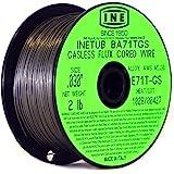 INETUB BA71TGS .030 بوصة على 900 رطل بكرة الكربون الصلب الغازية تدفق Cored لحام سلك