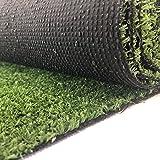 Carpeto Rugs Gazon Artificiel pour Balcon Terrasse Synthetique Exterieur Vert - Synthétique au mètre 400 Tailles Disponibles
