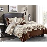 Flower 8Pcs Comforter Set,King Size 240X260Cm