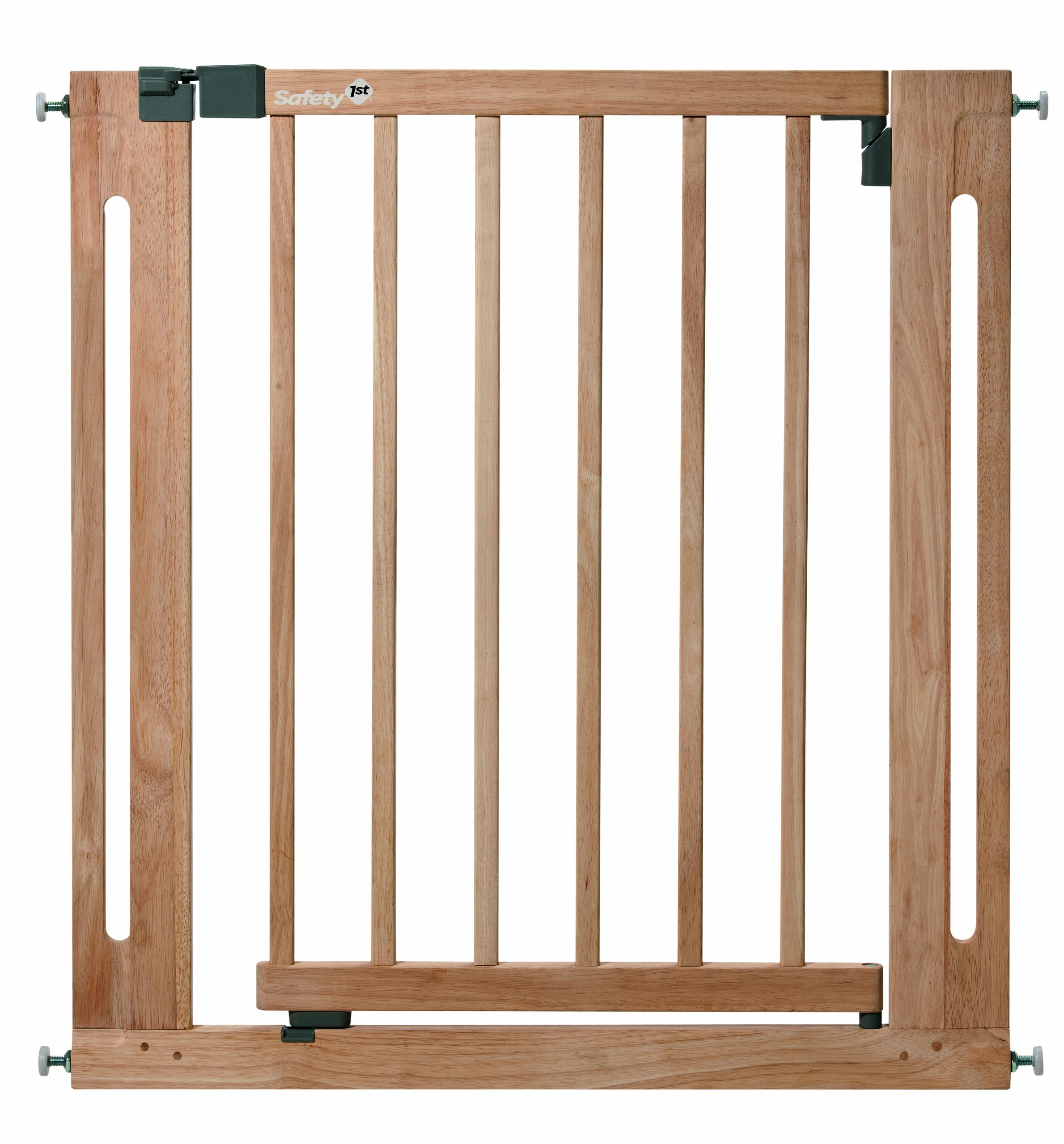 Safety 1st Easy Close Safety Gate Made from Wood / Pressure Fit / Natural  Stable door safety gate made of gum tree wood Easy to install due to 4-point clamping function Adjustable from 73 to 80.5 cm 1