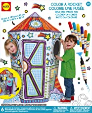 Alex Toys Craft Color a Rocket Children's Kit, Multi Color