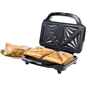 2daf17ac8 Giles   Posner EK2017SGMOB XL Deep Fill Sandwich Toaster Press