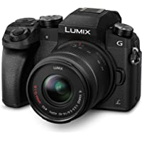 Panasonic LUMIX G DMC-G70KAEGK Systemkamera (16 Megapixel, OLED-Sucher, 7,5 cm OLED Touchscreen, 4K Foto und Video) mit…