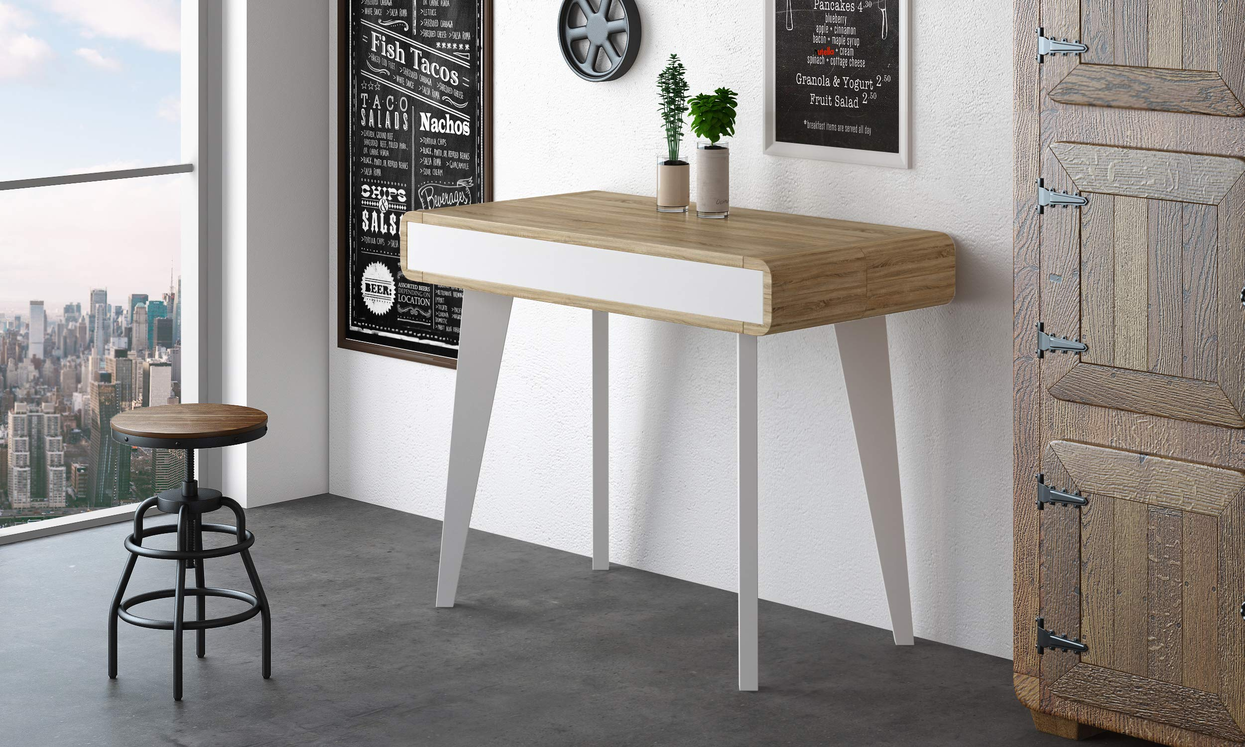 Home Innovation Table Console Salle A Manger Extensible