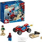 LEGO Spider-Man and Sandman Building Blocks (Multicolour)