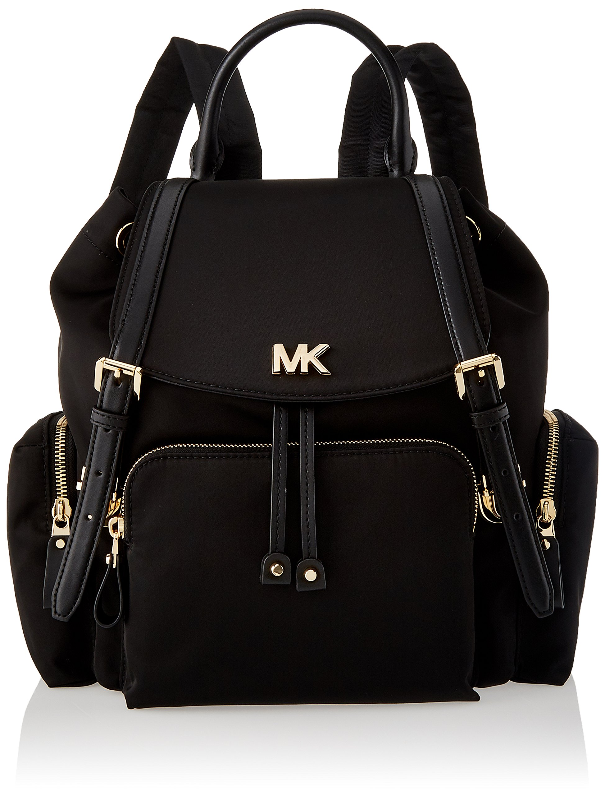 Michael Kors Womens Mott Md Backpack Backpack Handbag Black (Black) - fashion-backpacks