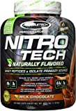 Muscletech Performance Series Nitrotech Naturally Flavored Whey Protein Peptides & Isolate (30g Protein, 3g Creatine, 6…