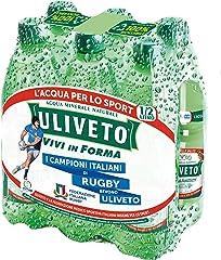 Uliveto Acqua Minerale Naturale - 6 x 0.5L