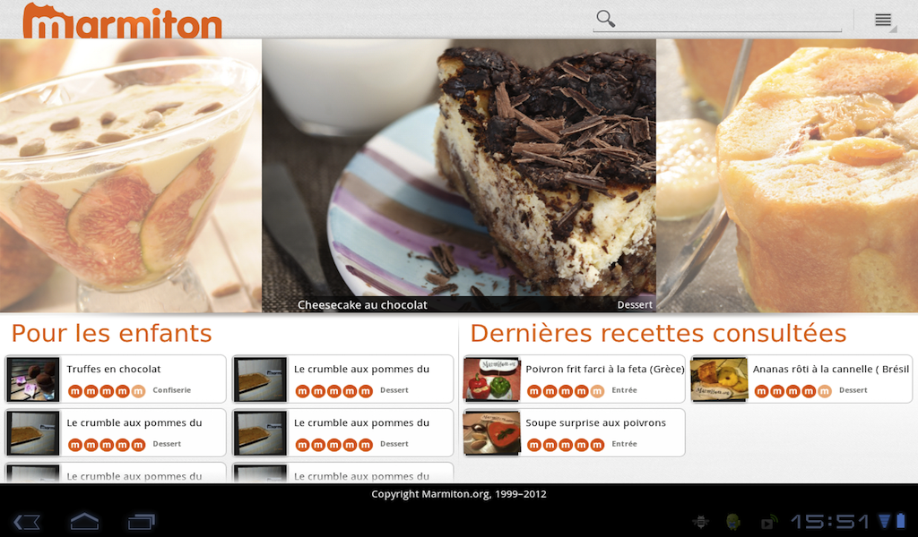 Marmiton Tablette Amazon Fr Appstore Pour Android