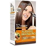 KATIVA Keratin And Argan Oil Brazilian Straightening Kit Formaldehyde Free