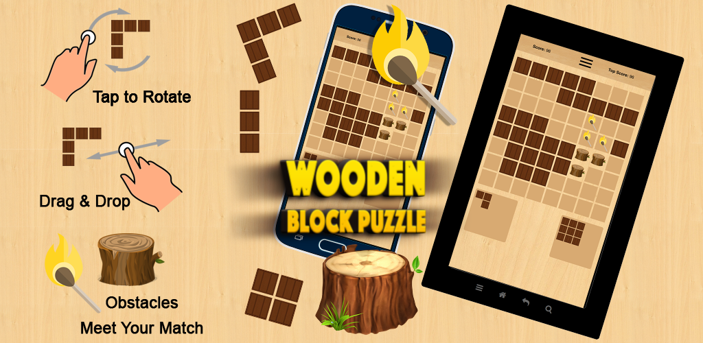 Image of Wooden Block Puzzle
