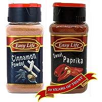 Combo of Easy Life Cinnamon Powder 65Gm & Sweet Paprika 70Gm