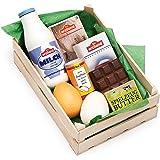 Erzi Sortiment bakingredienser, leksaksmat, inköpstillbehör