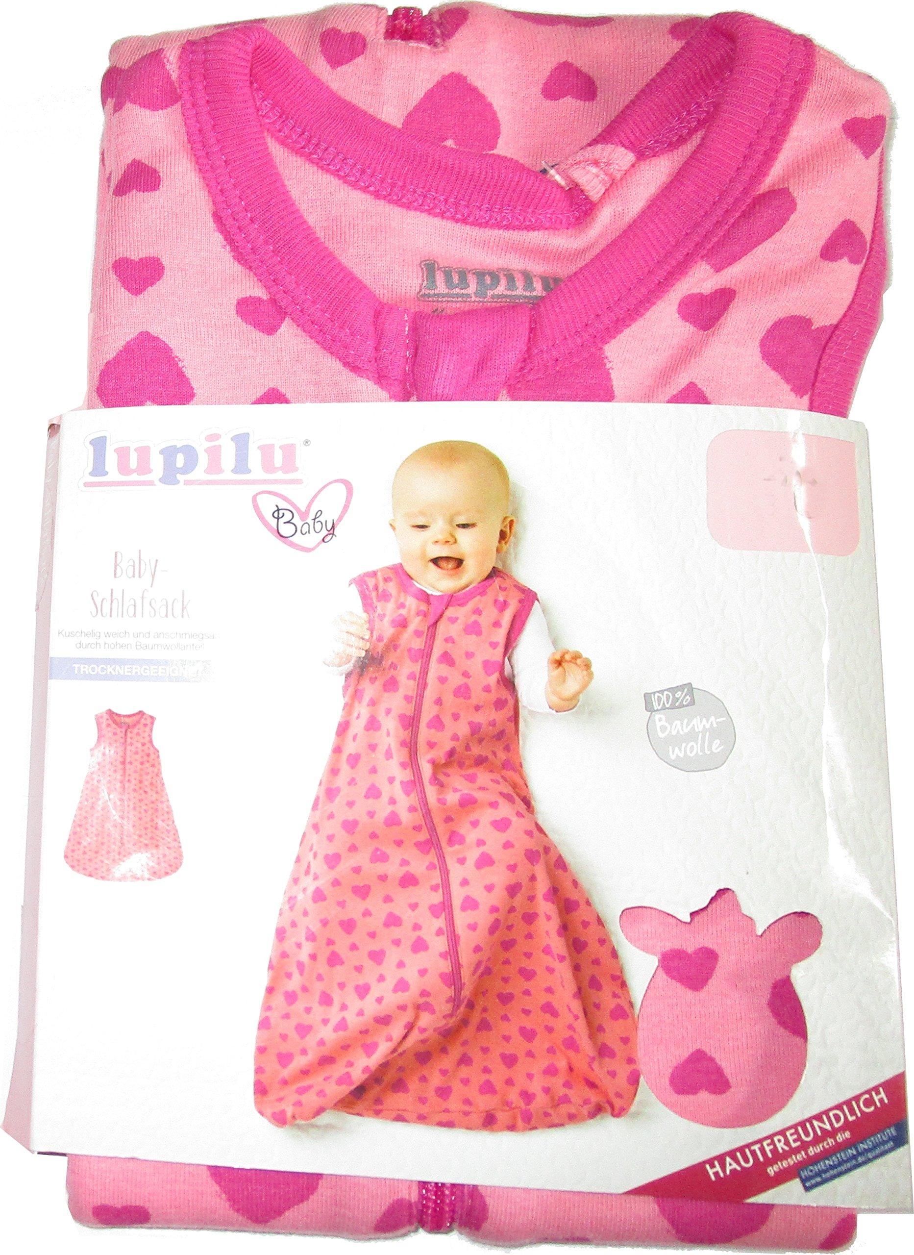 LUPILU® Baby Schlafsack (70, hellgrau)