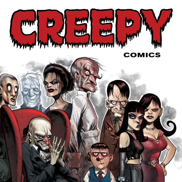 Creepy Comics (Issues) (24 Book Series) (Wein Drew)