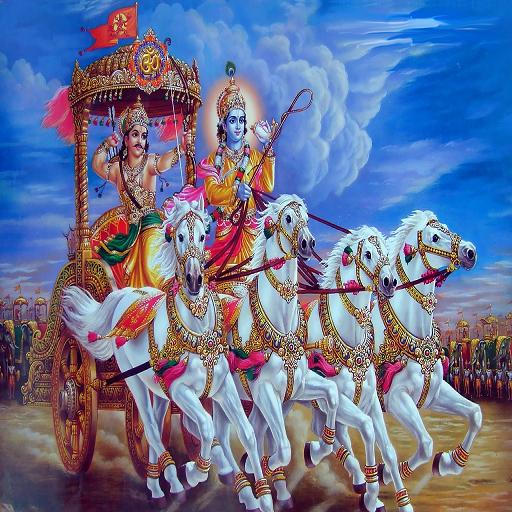 Srimad Bhagavad Gita in Hindi (Hindi In Geeta)