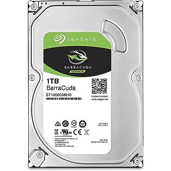 Seagate ST1000DM010 HDD Interno da 1TB, 3.5 pollici, 7200 rpm, Argento