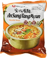 Nongshim Zuppa di Noodle Istantanea Ansungtangmyun Al Miso Piccante - 5 pezzi da 125 g [625 g]