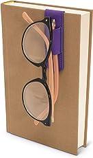 Bookaroo Glasses Hanger for Books Colour Purple for The Best Student, Books, Novel, Story Reading Lovers
