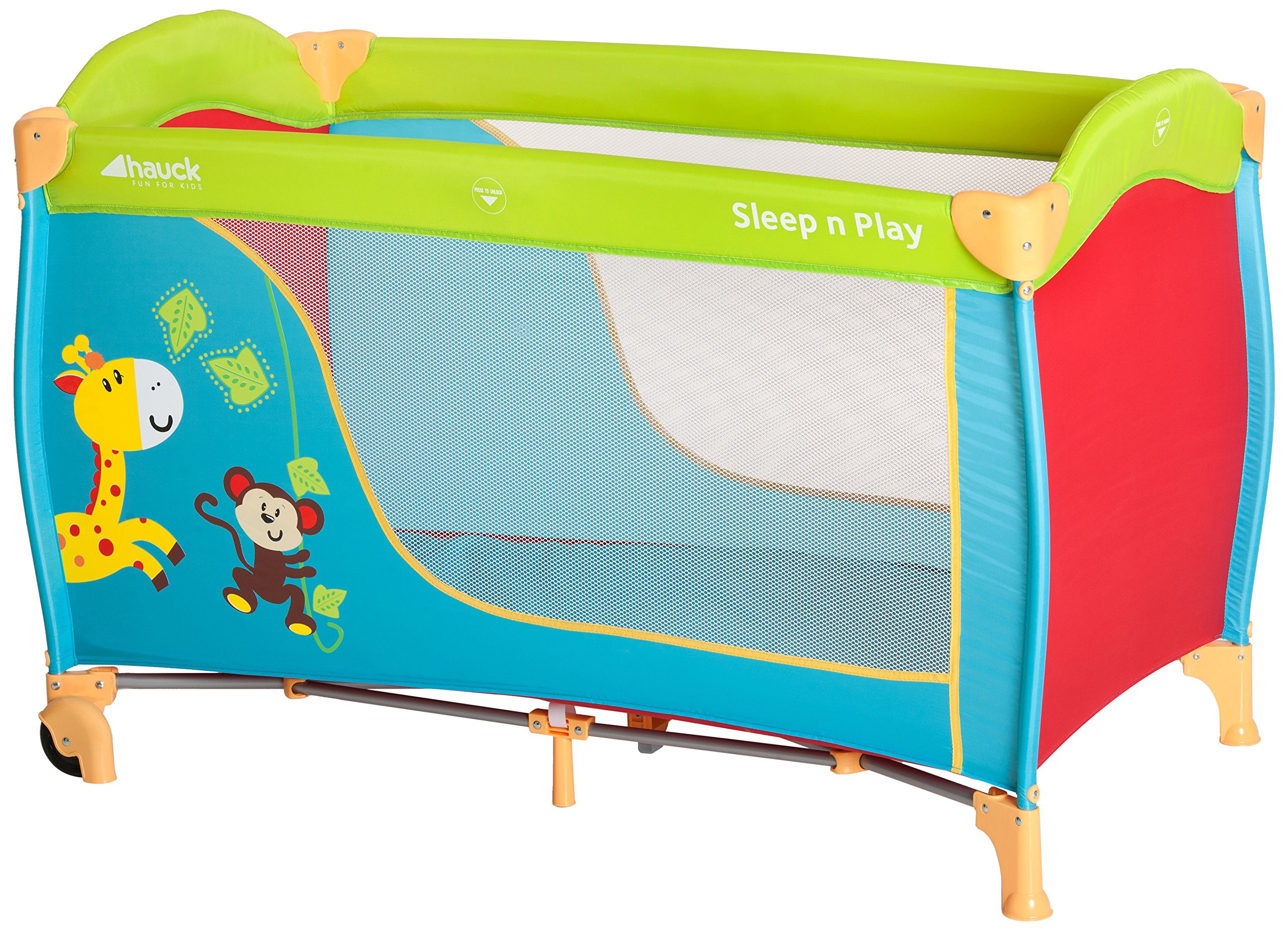 Baby Travel Cot Playpen For Boys Girls Pop Up Crib Folding Bed