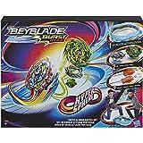 Beyblade Burst Rise Hypersphere - Set completo con Beystadium, 2 giocattoli da combattimento e 2 lanciatori, età 8 e in su