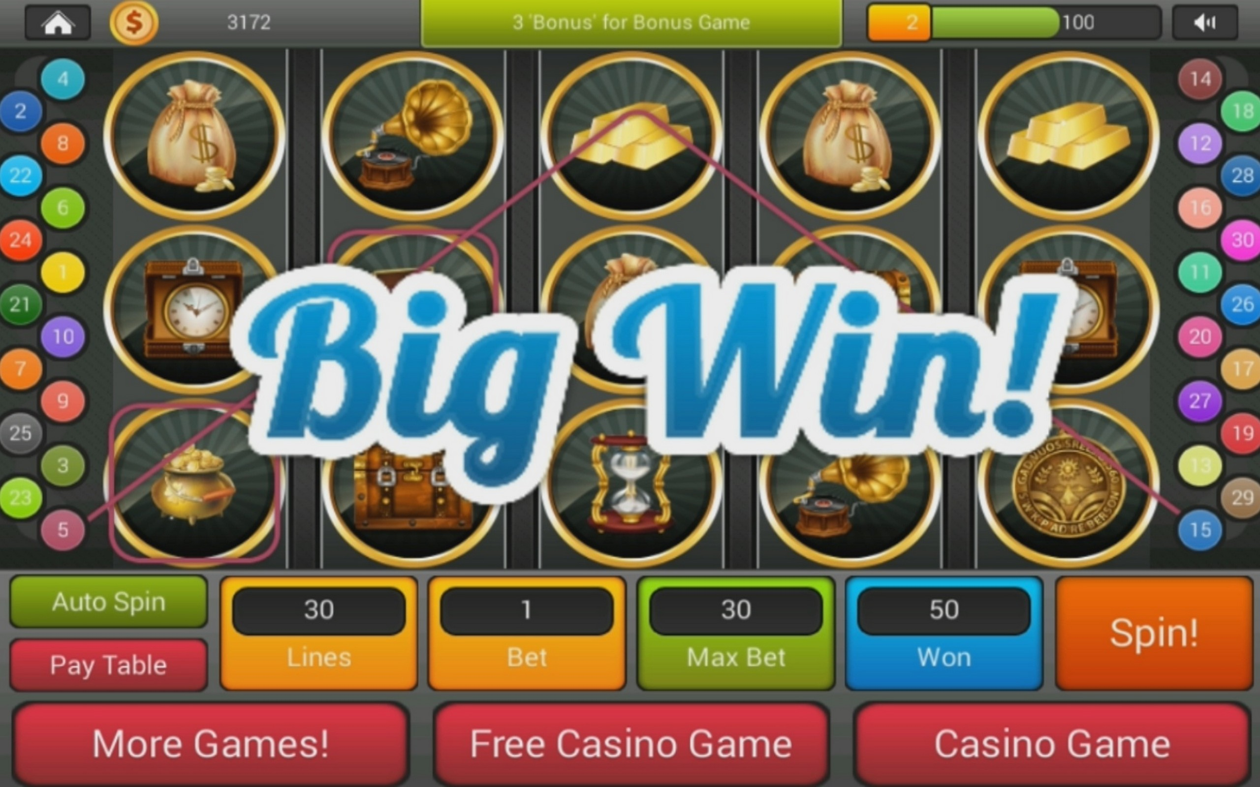 Pharaohs Fortune Slots- Free Instant Play Game - Desktop / IOS / Android
