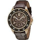 TIME FORCE Orologio Analogico Quarzo Uomo con Cinturino in Pelle TF3300L14
