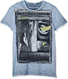 trueprodigy Casual Herren Marken T-Shirt Aufdruck Oberteil Cool Stylisch Rundhals Kurzarm Slim Fit Shirt Männer Bedruckt