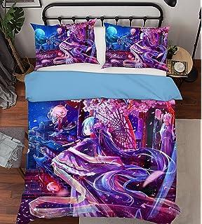 3D Photo Bedding Full 3D Red Black Cartoon Anime Tokyo 432 Bedding Pillowcases Quilt Duvet Cover Set Single Queen King AJ WALLPAPER UK Seven