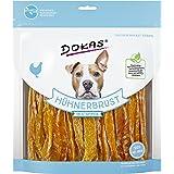 Dokas - Snack prémium sin Cereales en Tiras para Perros, Ideal para Entre Comidas