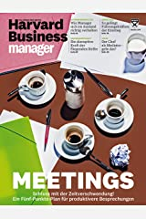 Harvard Business Manager 10/2017: Meetings Broschiert