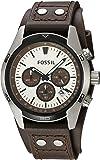 FOSSIL Coachman / Montre chronographe homme - Afficheur de date et tachymètre - Boîte de rangement et pile incluses
