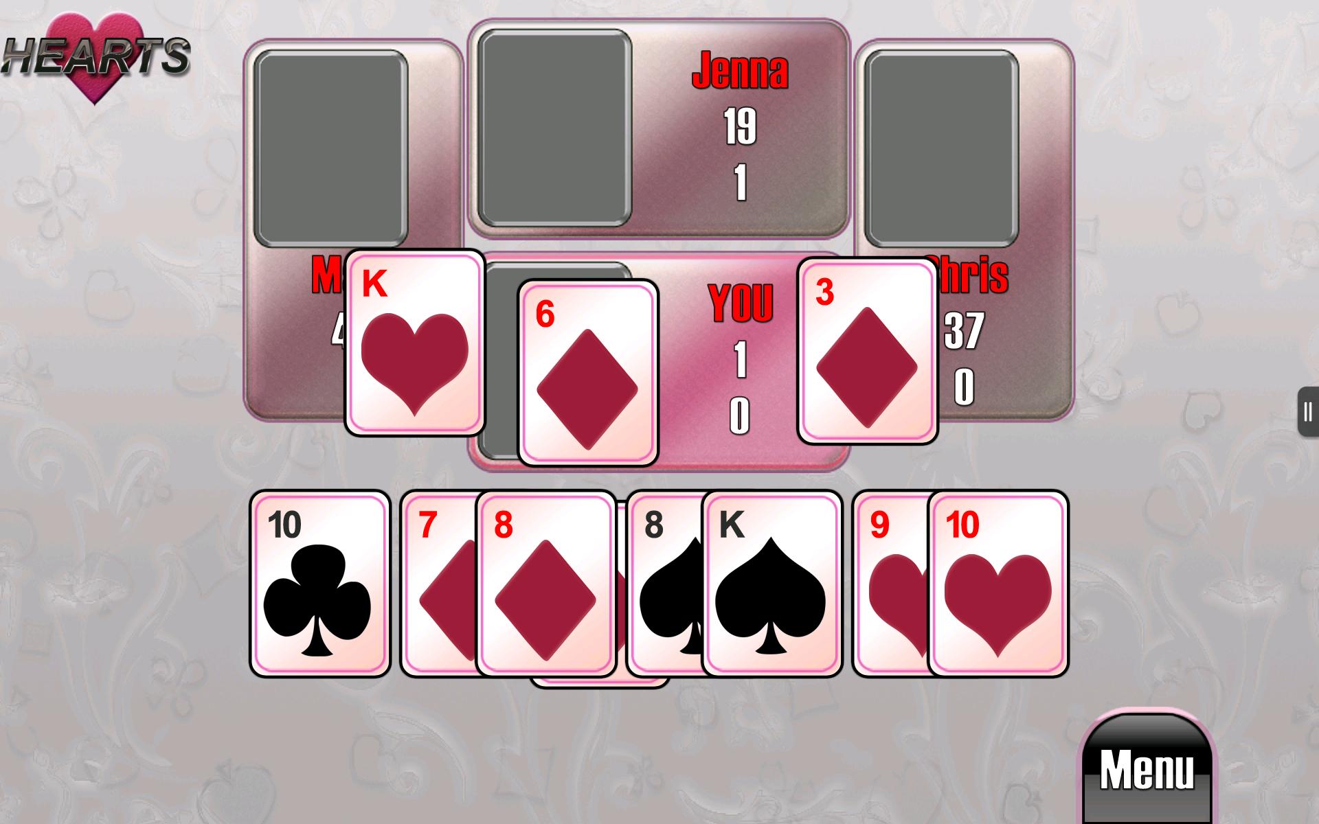 spiele hearts gratis