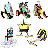 ButterflyEduFields 6in1 Robot for Kids 5+ year old | Transforming Robots, Car to Robot & Robot to Racer, All Direction Moveme