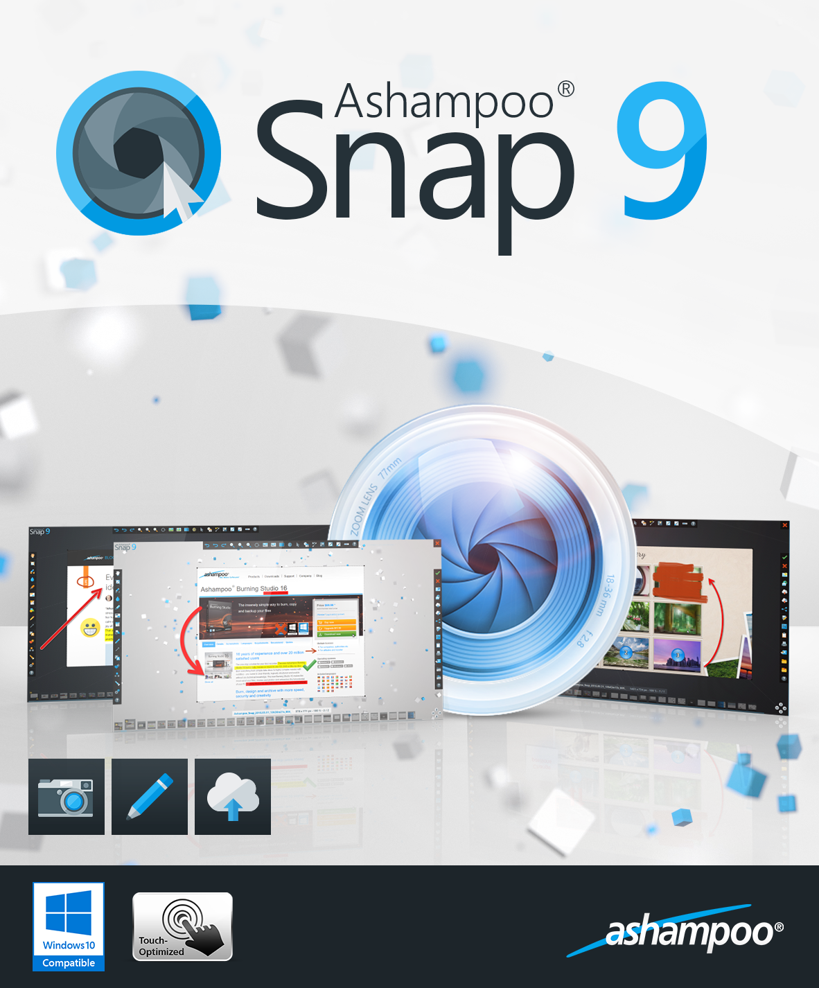 Ashampoo Snap 9 [Download] (Microsoft Video-editing)