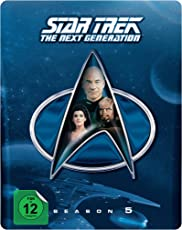 Star Trek: The Next Generation - Season 5 (Steelbook) [Blu-ray] [Limited Collector's Edition] [Limited Edition]