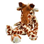 "Giraffe Stuffed Animal - 19"" Long Arms & Legs Hanging Plush Animal with Bonus Drawstring Backpack for Carrying & Playtime..."