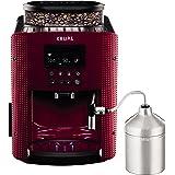 Krups Compact Cappucino EA8165 - Cafetera Superautomática 15 Bares, Pantalla LCD, 3 Niveles Intensidad de 20 ml a 220 ml, Pro