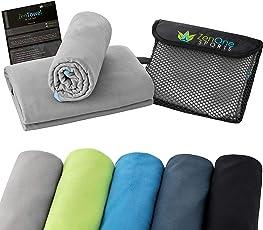 ZenTowel Mikrofaser Handtuch I Leicht & Saugfähig I Premium Fitness Handtuch I Ideal ALS Sporthandtuch, Reisehandtuch & Strandhandtuch