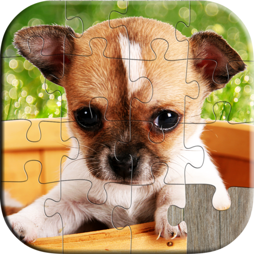 Cute Dog and Puppy Puzzles for Kids - Full version