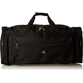31ad497839800 Roamlite Travel Duffle Holdalls - Extra Large X-L Size - Weekend or Very Big  Overnight Bag - Gym Sports Kit - 66 cm x 31 x 31-65 Litre RL58K (Black)