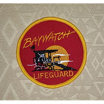 012968bfef41 Baywatch Lifeguard Badge Embroidered Patch 4