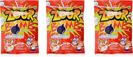 Zour Bomb Candy, Cola, 110g (Pack of 2)