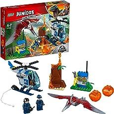 LEGO Juniors Jurassic World Pteranodon Escape Building Blocks for Kids 4 to 7 Years (84 pcs) 10756
