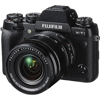 "Fujifilm X-T1 Appareil Photo Hybride Ecran LCD 3"" (7,62 cm) 16,3 Mpix Kit Boîtier Noir + Objectif XF 18-55 mm"
